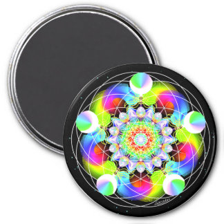 Cosmic Connector 3 Inch Round Magnet