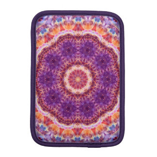 Cosmic Convergence Mandala iPad Mini Sleeve