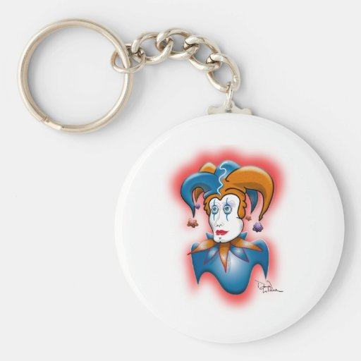 Cosmic Court Jester Key Chains