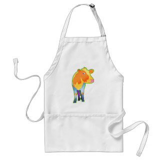 Cosmic Cow Adult Apron