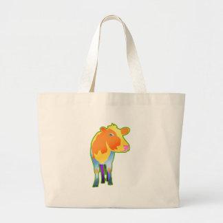 Cosmic Cow Canvas Bag