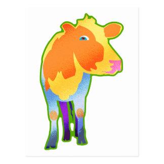 Cosmic Cow Postcard