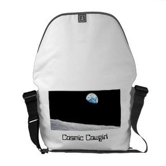 Cosmic Cowgirl Messenger Bag