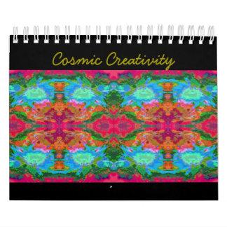 Cosmic Creative Clouds Calendar
