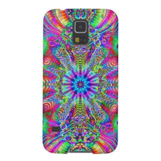 Cosmic Creatrip - Psychedelic trippy design Case For Galaxy S5