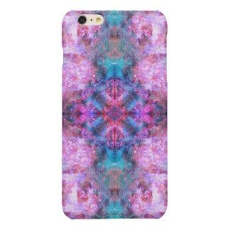 Cosmic Cross Mandala Glossy iPhone 6 Plus Case