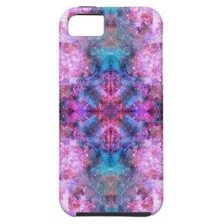 Cosmic Cross Mandala iPhone SE/5/5s Case