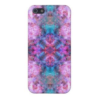 Cosmic Cross Mandala iPhone SE/5/5s Cover