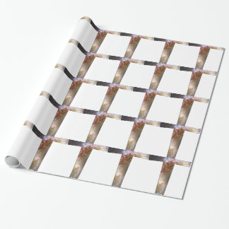 Cosmic Cross Wrapping Paper