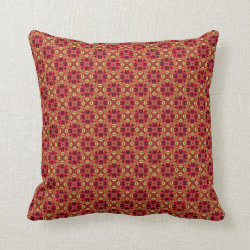 Cosmic Crown Throw Pillow