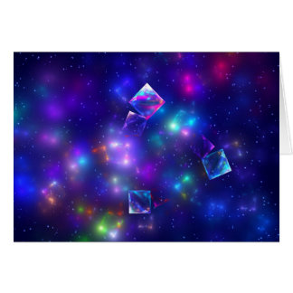 Cosmic Cubes Card