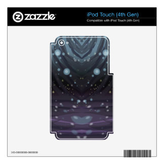 Cosmic Curtains iPod Touch 4G Skin