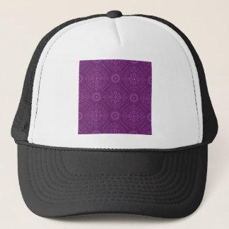 Cosmic Damask Trucker Hat