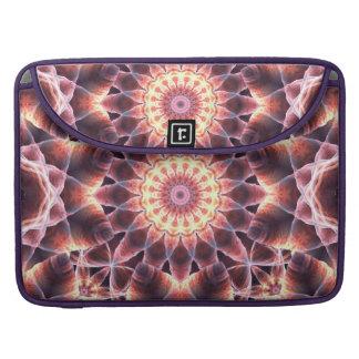 Cosmic Dance Mandala MacBook Pro Sleeves