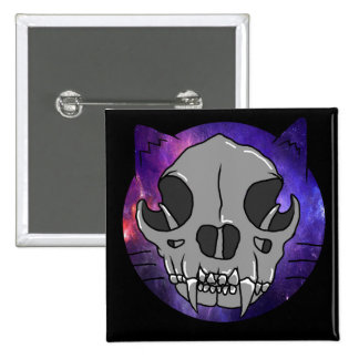 "Cosmic Deathcat ""button"" Button"