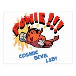 Cosmic Devil Lad! Post Card