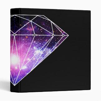 Cosmic diamond 3 ring binder