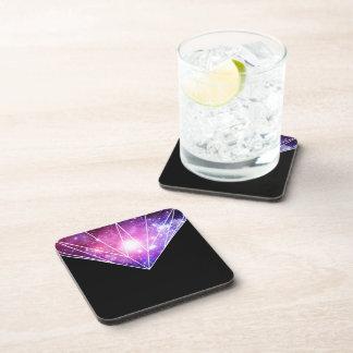Cosmic diamond beverage coaster