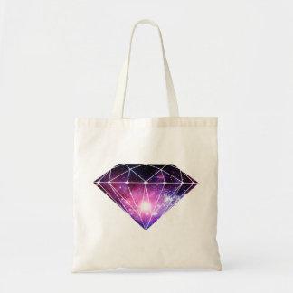 Cosmic diamond tote bag