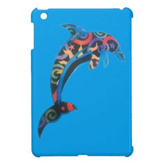 Cosmic Dolphins iPad Mini Cases