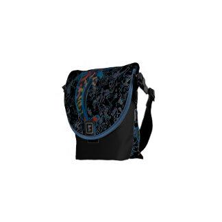 Cosmic Dolphins Messenger Bag