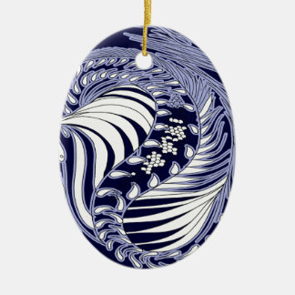 Cosmic Dragon - oval ornaments