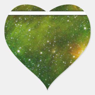 Cosmic Drd Heart Sticker