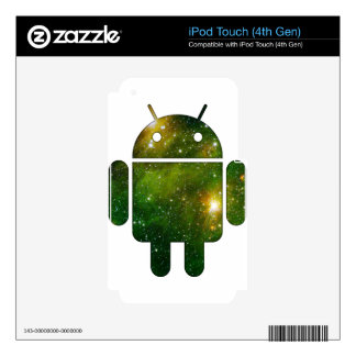 Cosmic Drd iPod Touch 4G Skins