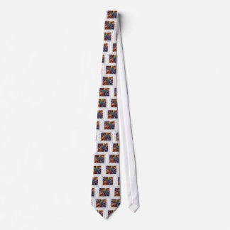 Cosmic Energy - Basket Weave Pattern3 Neck Tie