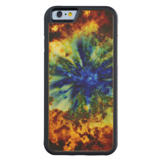 Cosmic Explosion Carved® Maple iPhone 6 Bumper Case