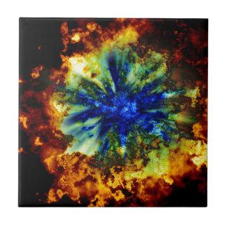 Cosmic Explosion Tiles