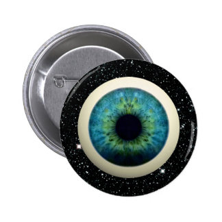 COSMIC EYE (A great novelty item!) ~ 2 Inch Round Button