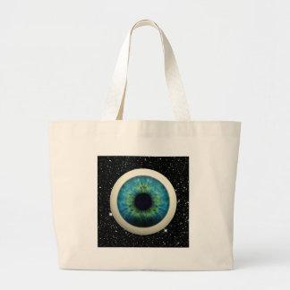 COSMIC EYE (A great novelty item!) ~ Jumbo Tote Bag