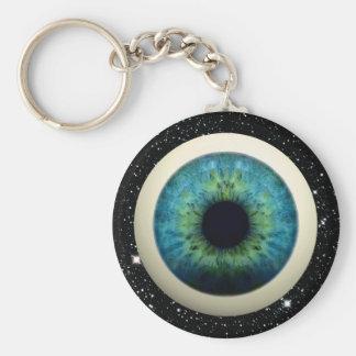 COSMIC EYE (A great novelty item!) ~ Basic Round Button Keychain
