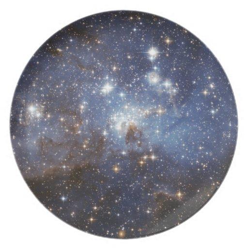 cosmic-eye-candy dinner plate