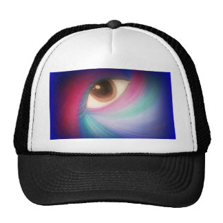 Cosmic Eye Design Trucker Hat