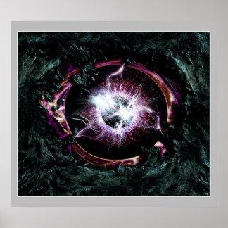 Cosmic Eye Poster