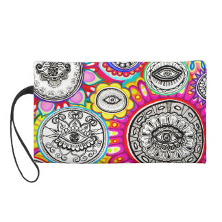 Cosmic Eyes Art Wristlet