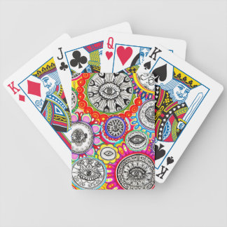 Cosmic Eyes Psychedelic Playing Cards
