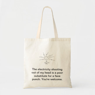Cosmic Face Punch Tote Bag
