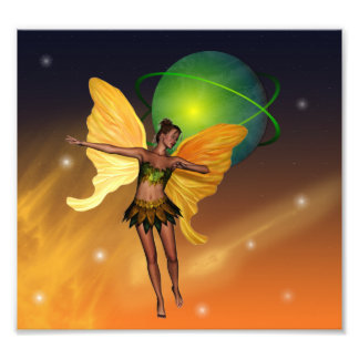 Cosmic Fairy Photo Art