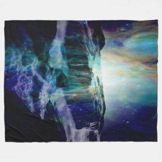 Cosmic Falls Fleece Blanket
