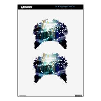 Cosmic Falls Xbox 360 Controller Decal