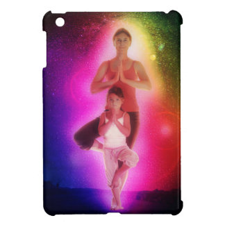 Cosmic family yoga iPad mini case