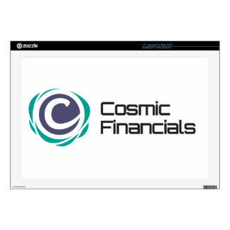 "Cosmic Financials Swag 17"" Laptop Skins"