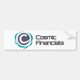 Cosmic Financials Swag Bumper Sticker