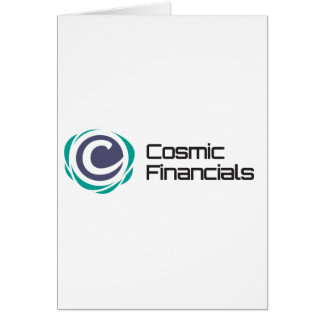 Cosmic Financials Swag Card