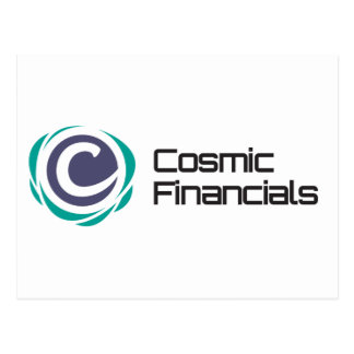 Cosmic Financials Swag Postcard