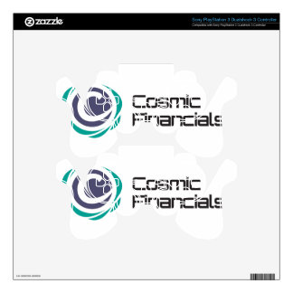 Cosmic Financials Swag PS3 Controller Decal