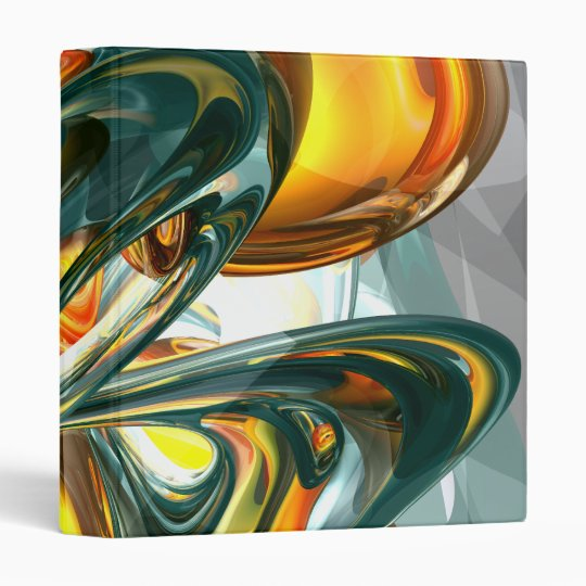 Cosmic Flame Abstract Binder